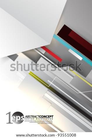 Vector Design - eps10 Abstract Concept Illustration - stock vector