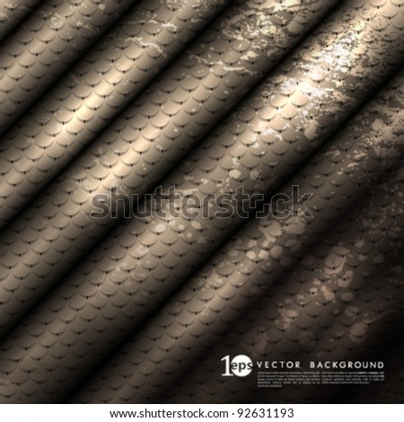 Vector Design - eps10 Seamless Pattern with Rusty Texture - stock vector