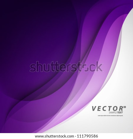 Vector Design - eps10 Smooth Curve Lines Background - stock vector