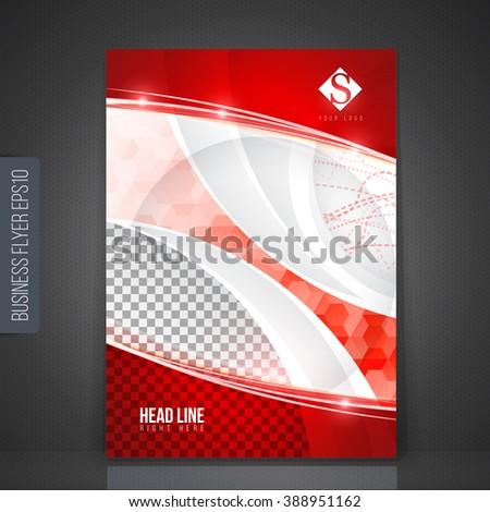 Vector design for Cover Report Brochure Flyer Poster. - stock vector