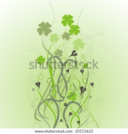 vector design for St. Patrick's Day - stock vector