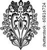 vector design of motif on white background - stock