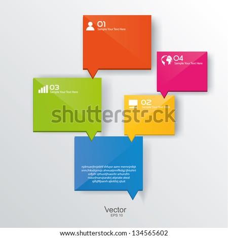 Vector design template - stock vector