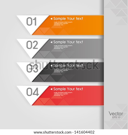 Vector design template - stock vector