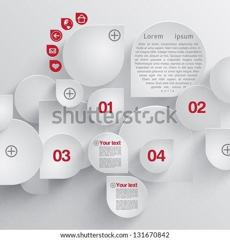 Vector design template design concept - stock vector