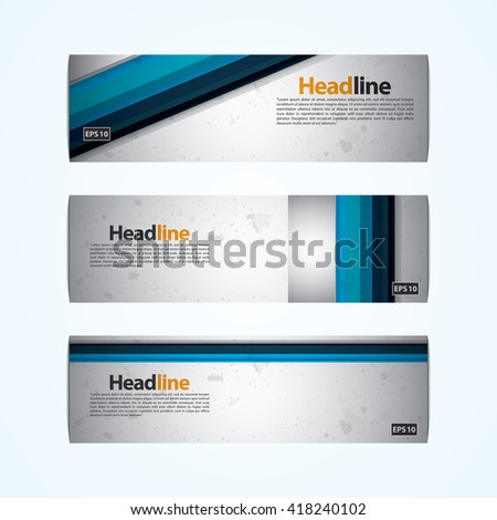 Vector design template for Banner, Ticket, Voucher, Card.
