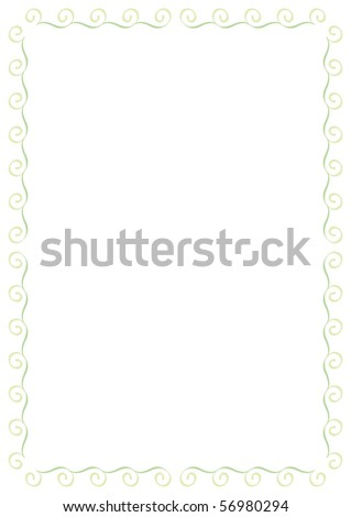 Vector detailed illustration. Color changes. - stock vector