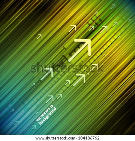 vector digital cover design background - stock vector