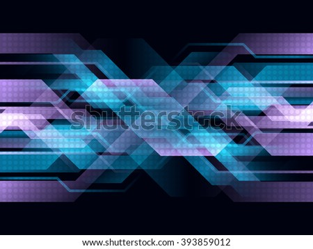 vector digital technology concept abstract background