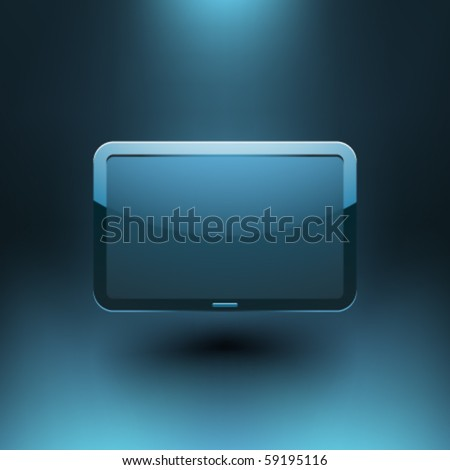 Vector Display Screen - stock vector