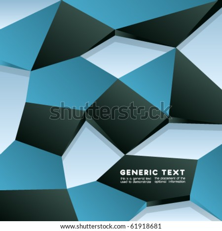 Vector Distorted Texture Design - stock vector