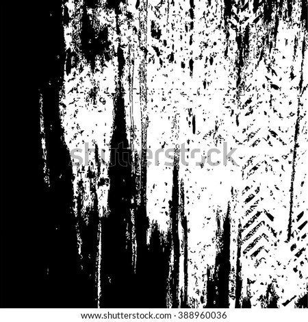 Vector Distressed Grunge Texture. - stock vector