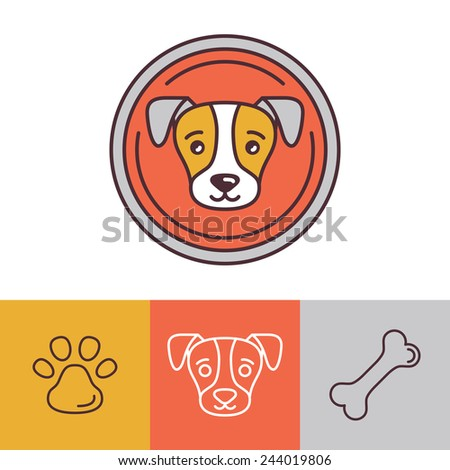 Reds Logo Vector Vector Dog Icons And Logos in