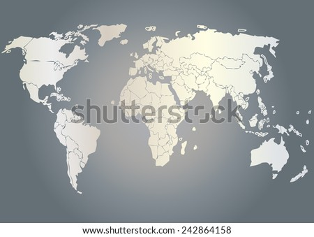 Vector drawing world map background textmonochrome stock vector vector drawing world map for background and textmonochrome worldmap vector template for website gumiabroncs