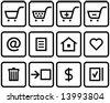 Vector E-Commerce Icon Set  You'll find more icons like this in my portfolio - stock vector