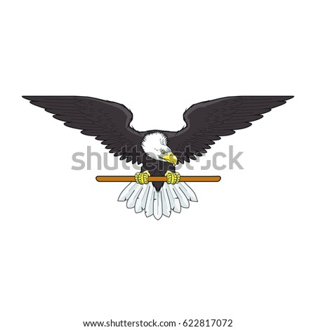 Vector Eagle Template Design Stock Vector HD (Royalty Free ...