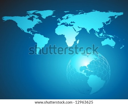 Vector Earth background