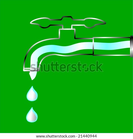 Vector Ecology Conservation Concept, See Jpeg Also In My Portfolio - stock vector