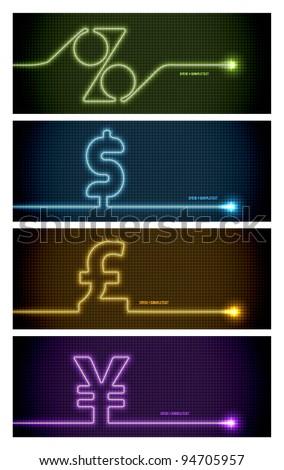 Vector Electrocardiogram - stock vector