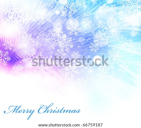 Vector elegant christmas background EPS10 - stock vector