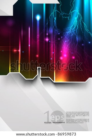 Vector- Eps 10 Abstract Illustration - stock vector