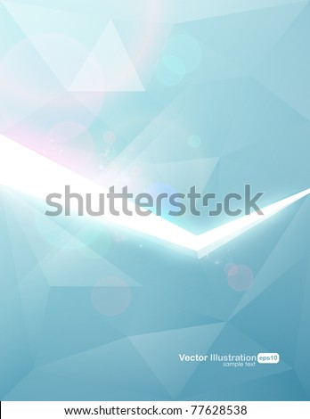 Vector. Eps10. Trendy background design. - stock vector