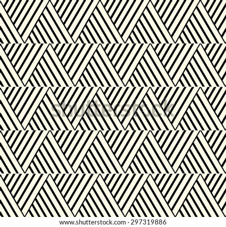 Vector Ethnic Knotted Pattern