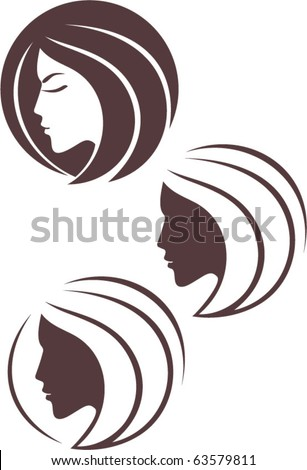 vector fashion icon logo - stock vector