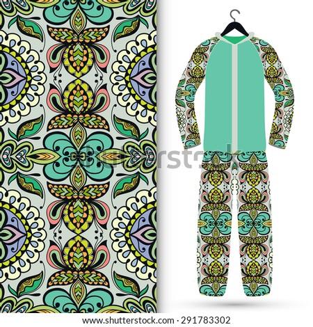 sports motif designs arabic oriental islamic style geometric pattern stock vector