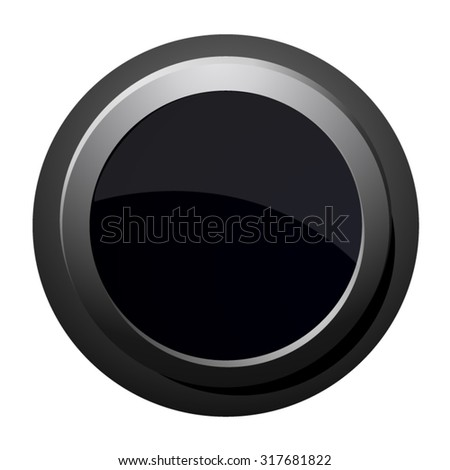 vector file of black button