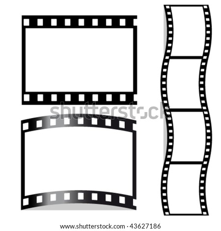 Vector film - stock vector