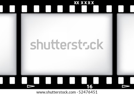 vector film background - stock vector