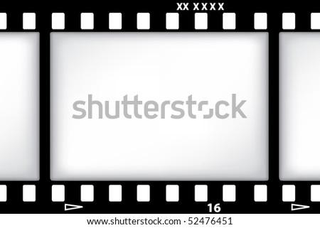 vector film background - stock vector