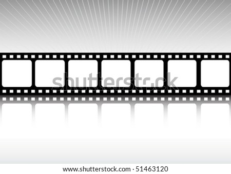 Vector film background  illustration
