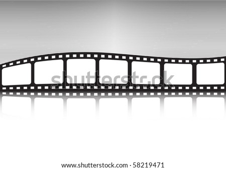 Vector film illustration background