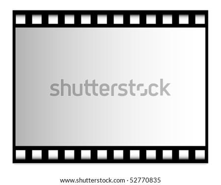 Vector film strip - stock vector