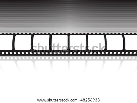 Vector film strip reflection