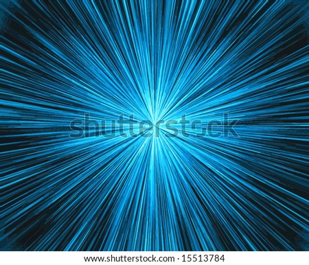 Vector Fireworks, Also See Jpeg In My Portfolio - stock vector