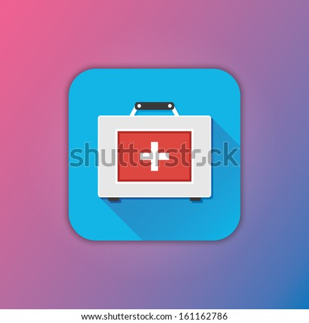 Vector First Aid Kit Icon