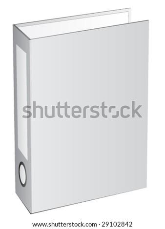 Vector folder - stock vector