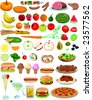 Vector Food Items - stock photo