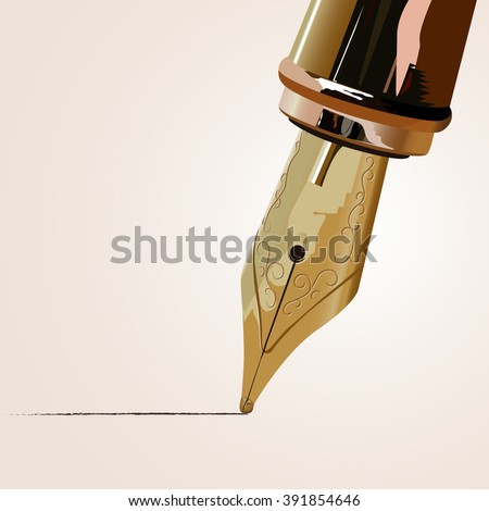 Vector fountain pen