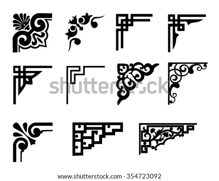 Great Vector Frame Corners