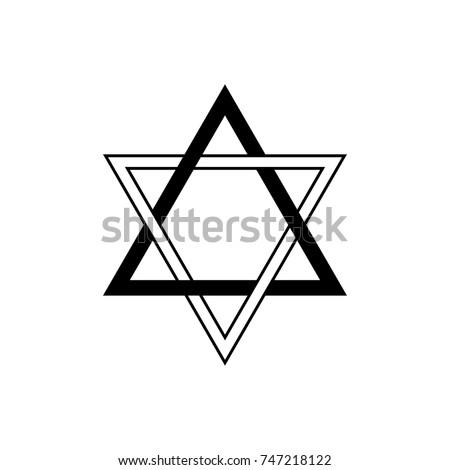 Vector Freemasonry Symbol Matter Spirit Equilibrium Stock Vector