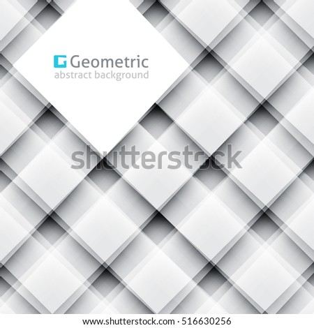 vector geometric abstract background of square shapes