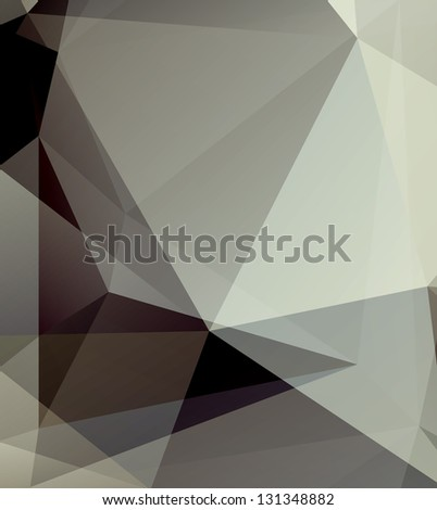 Vector geometric background with gradients lines, different colors eps 10 - stock vector