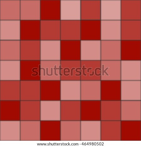 Vector geometric red tile. Seamless pattern texture background and wallpaper.
