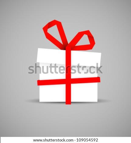 vector gift - stock vector