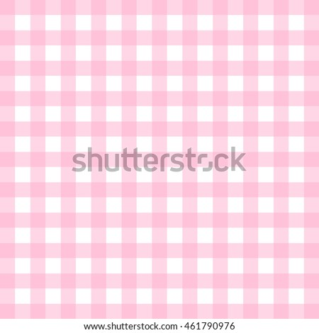 Vector gingham pattern in pink