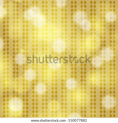 Vector glittery gold Christmas background. - stock vector